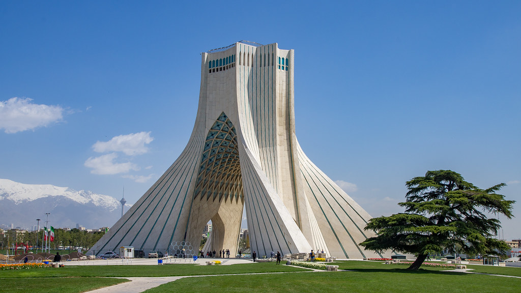 Azadi Tower I Tehran 20170408 The 1972 Azadi Freedom