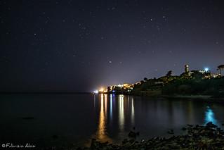 Santa Marinella by night