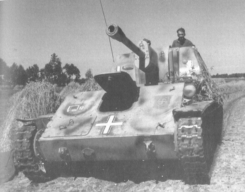SU-76 del 5 ° SS Panzer Division Wiking
