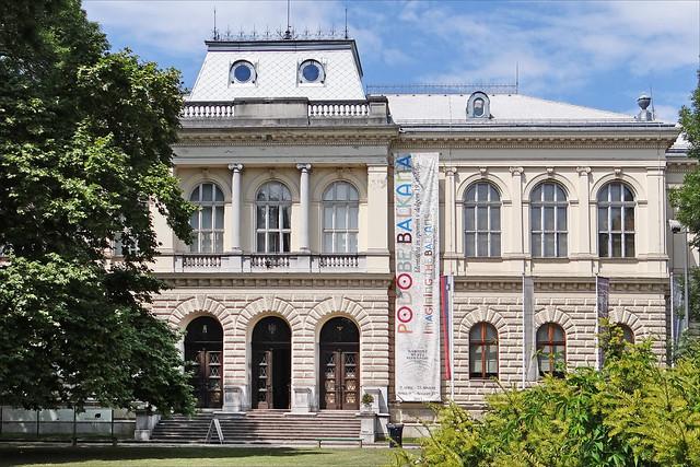 Le musée national de Slovénie (Ljubljana)