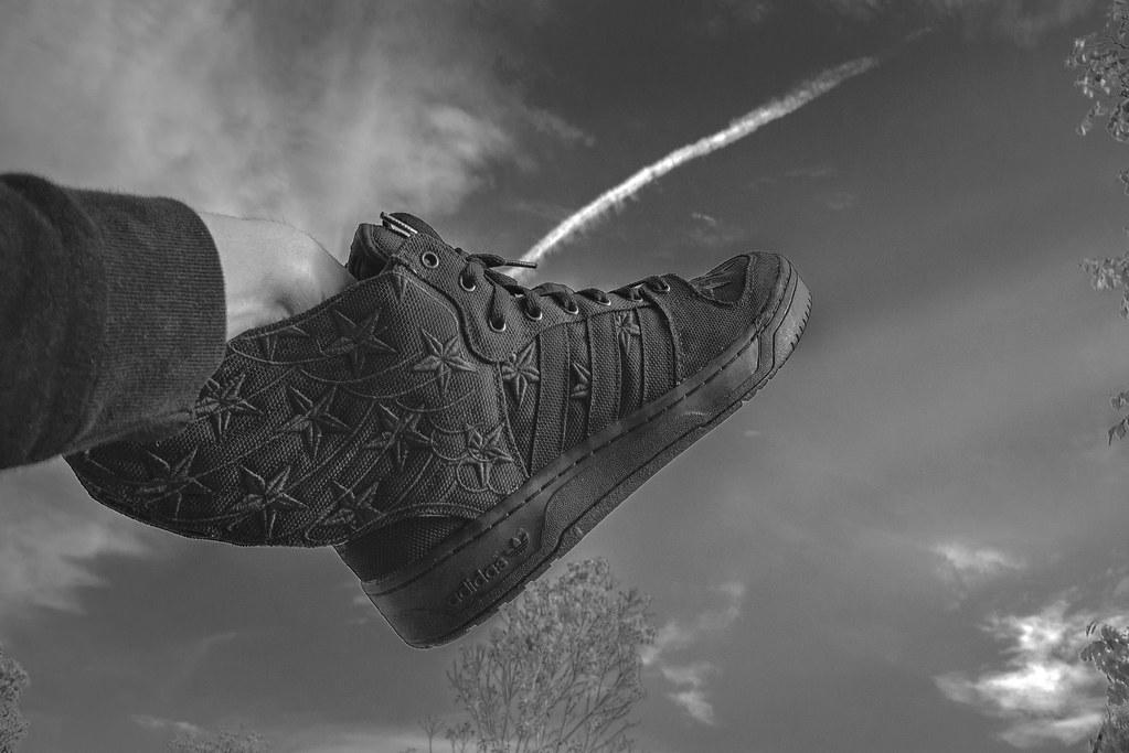 new arrival 4d582 4b9d0 ... Adidas Originals x Jeremy Scott x ASAP ROCKY - BLACK FLAG   by  chunglee CL