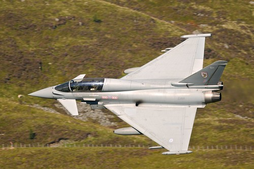Eurofighter Typhoon ZJ814 - Mach Loop - 24/09/13