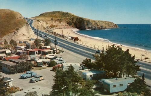 El Morro Beach, Laguna Beach, circa 1950