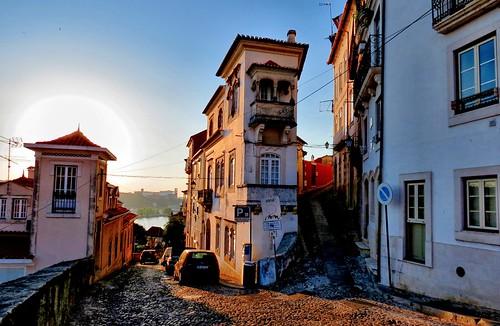 sunset portugal coimbra