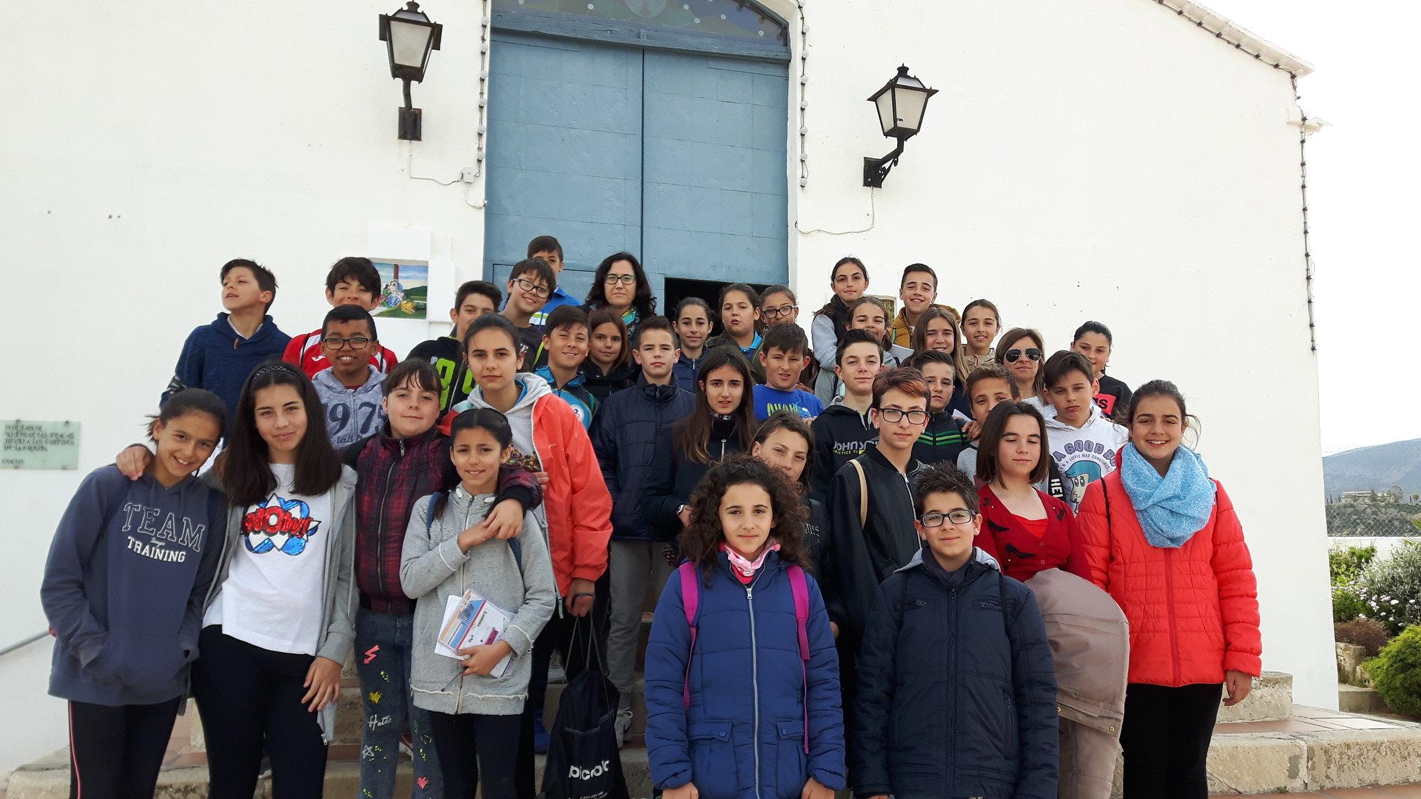(2017-03-31) - Visita ermita alumnos Yolada-Pilar, Virrey Poveda-9 de Octubre - Maria Isabel Berenquer Brotons - (02)