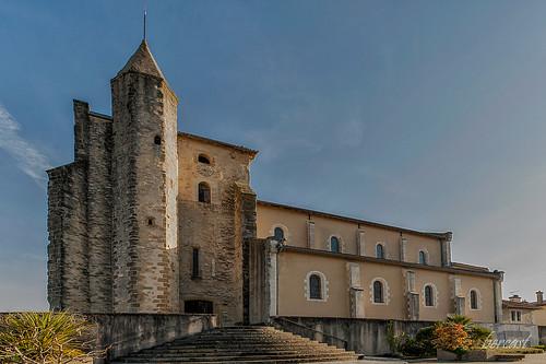ST GEOURS de MAREMNE.01. L' eglise-LANDES-FRANCE   by bercast