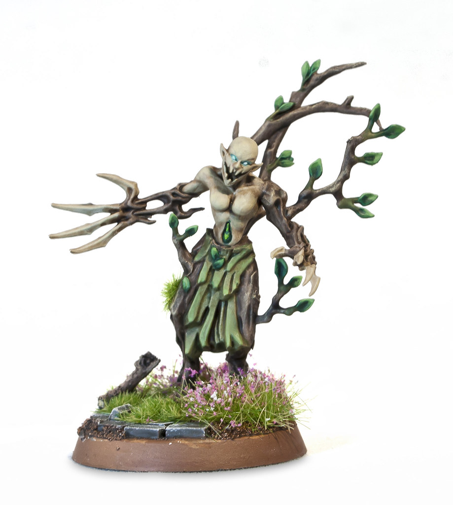 Sylvaneth Branchwraith | Built with spare parts of dryads an