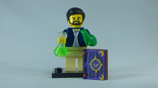Brick Yourself Bespoke Custom Lego Figure Scientist and Magic Book | by BrickManDan