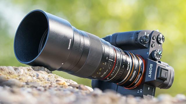 Samyang 135mm ƒ/2 ED UMC on SONY ⍺7II