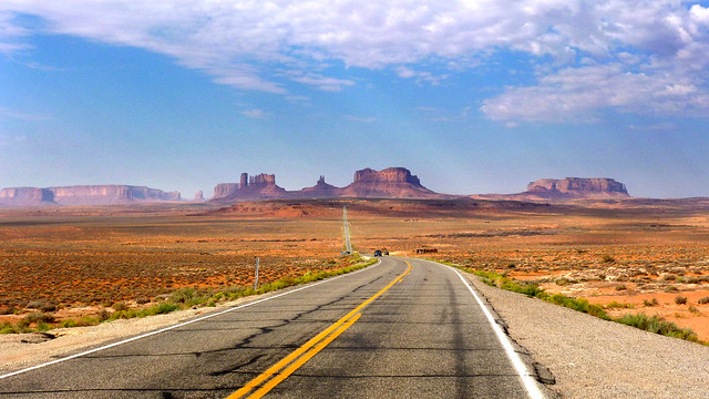 U.S. Route 163 Scenic Byway To Monument Valley - Utah