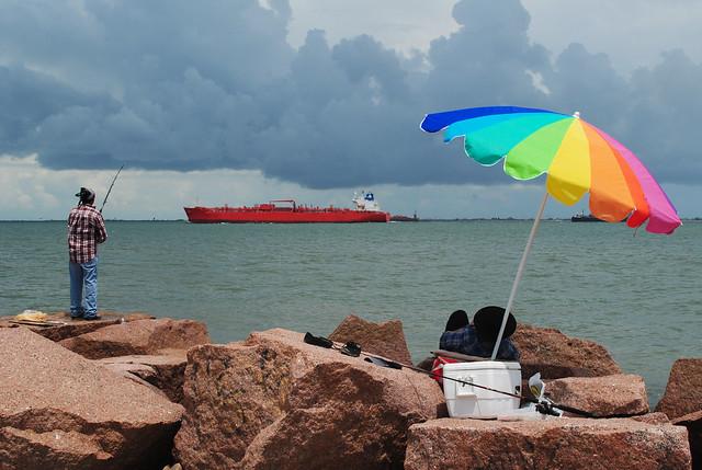 Fishing, Bolivar Roads, Galveston, Texas 1308111302