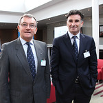 Janusz Lacny, IRU President and Umberto de Pretto, IRU Secretary General