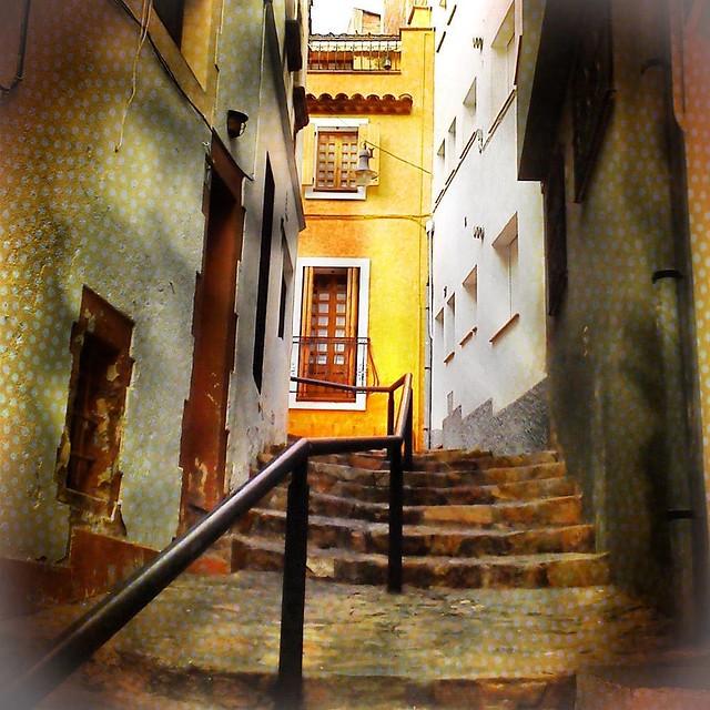 Las escaleras de la calle de la Fábrica