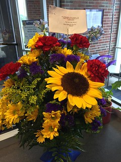 A gift from Gillespie Florists to SPD | by speedwaycommunitypolicing