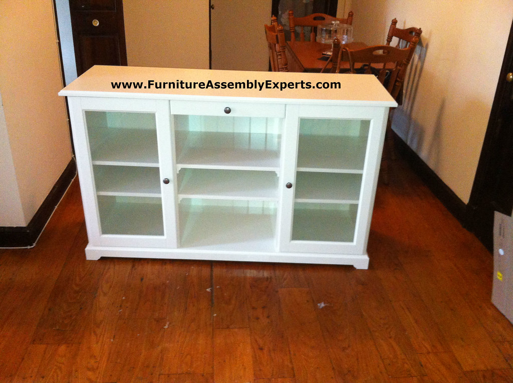 ikea liatorp tv stand assembly service in owing mills MD