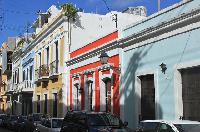 San Juan: Calle de la Luna