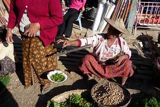 At the Market - Mrauk U, Rakhine, Myanmar Burma   John