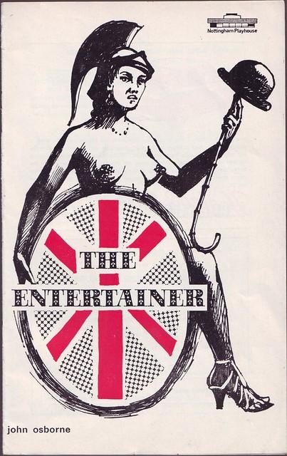 The Entertainer, by John Osborne. Dir. William Chappell (Nottingham Playhouse. 1969)
