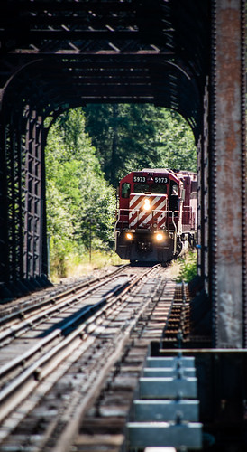 bridge train pentax castlegar diesellocomotive pentaxk01 imgp0378 summervacation2013