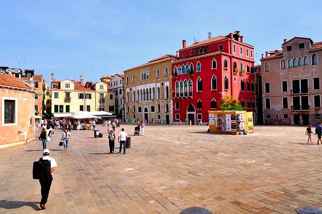 Venice : Campo Sant' Angelo  campo san anzolo