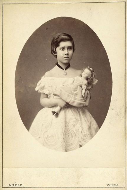 Prinzessin Hilda von Nassau, später Großherzogin von Baden