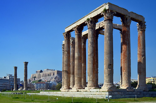 Temple of Olympian Zeus /  Olympieion | by Images George Rex