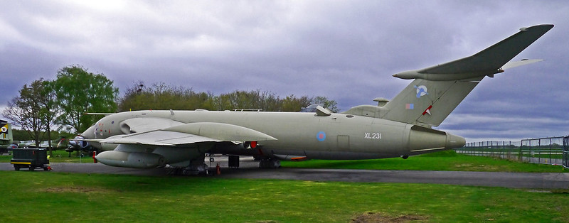 Handley Page Victor - Yorkshire Air Museum.