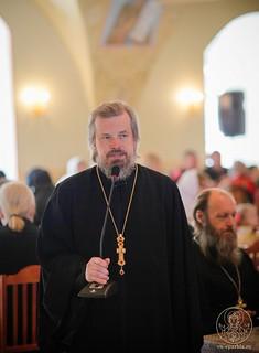 Литургия в Иверском монастыре 910