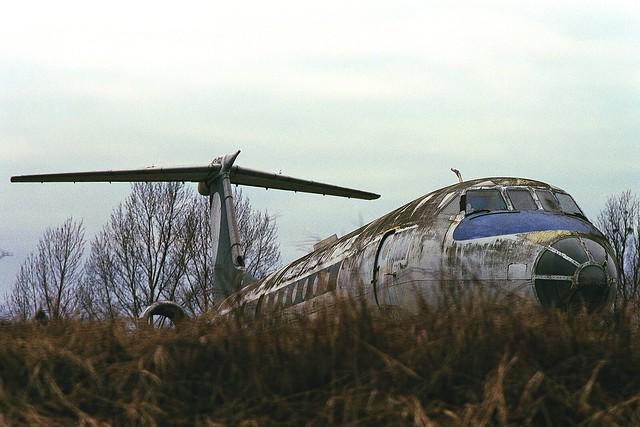 Forgotten TU-134A CCCP-65600