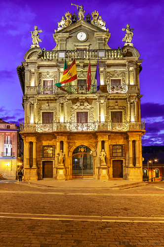 City Hall of Pamplona | by fbkphotography