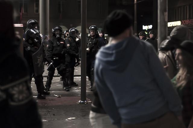 Riots in Berne/ Tanz dich frei 2013