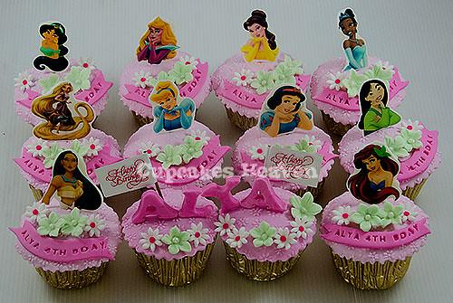 Princess Birthday Cupcakes Jakarta Indonesia