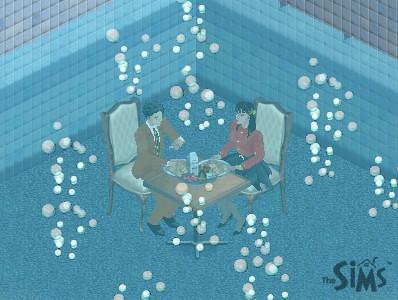 水底用餐Sims版(4) | by siaomiew