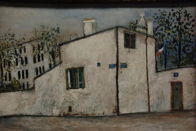Maurice Utrillo...maison