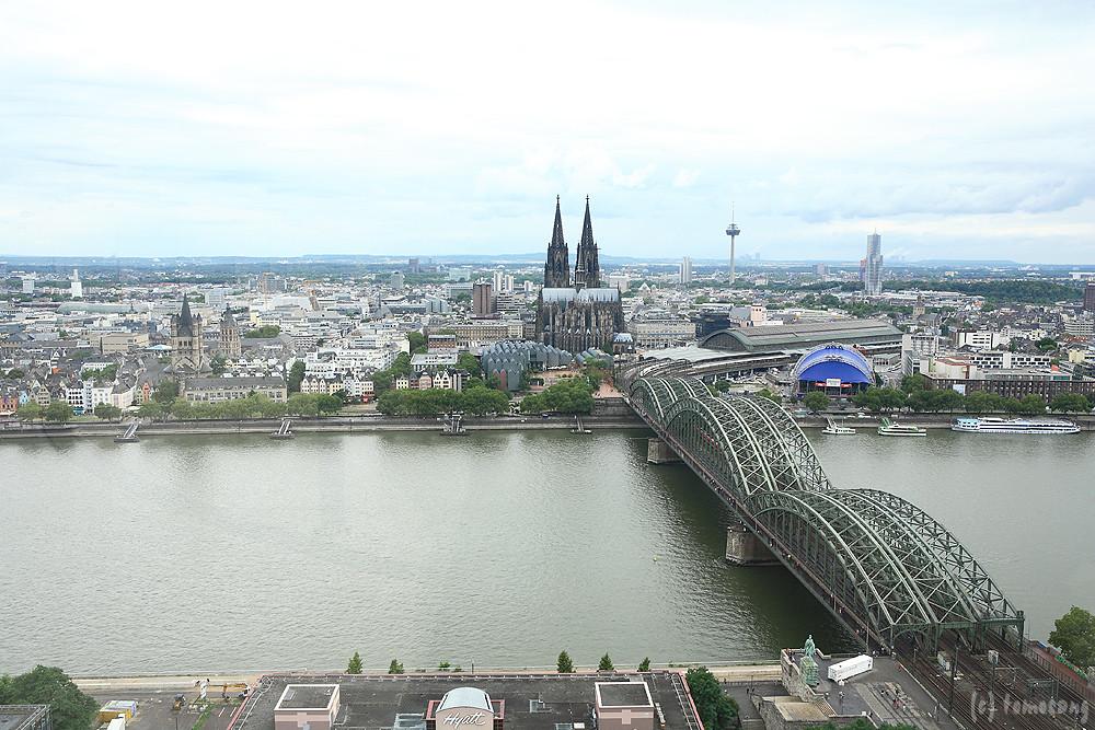 Köln Triangle Panorama