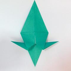 สอนวิธีการพับกระดาษเป็นรูปปลาฉลาม (Origami Shark) 026