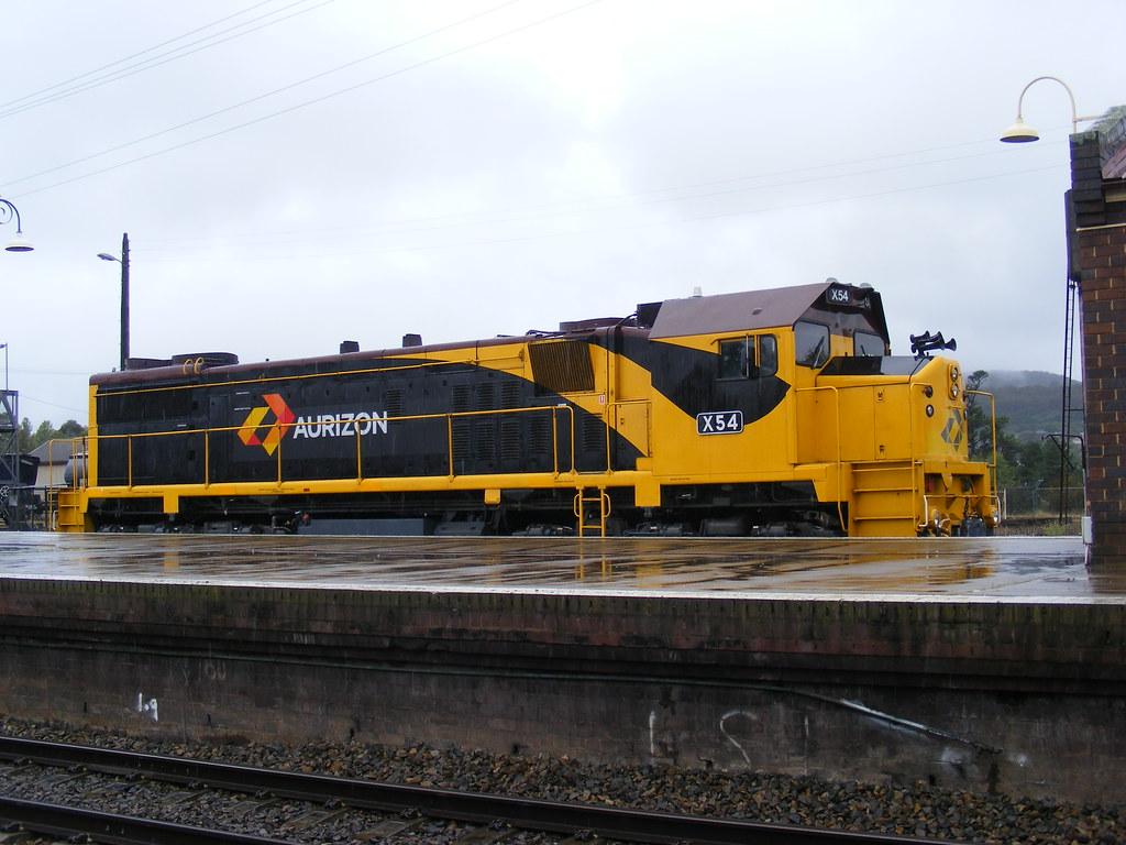 Aurizon X54 at Goulburn NSW by John