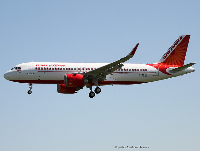 Air India. Flight Test. Airbus A320 NEO.