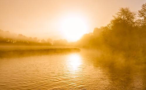 sturminsternewton england unitedkingdom gb orangesunrise nopeople riverstour dorsetuk mill sturminstermilll anthonywhitesphotography