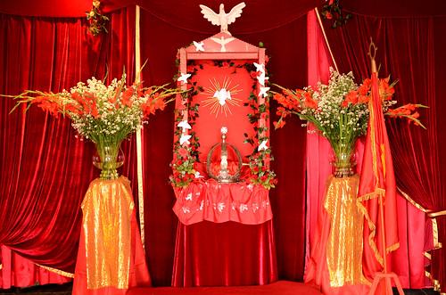 Abertura do Império - Festa do Divino 2013 - Itanhaém