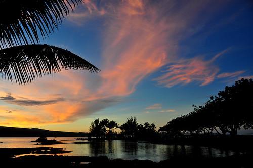 light sunset hawaii bigisland 18200 unconditionallove d5000 pwpartlycloudy