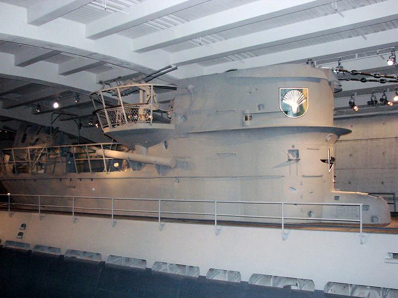 U-505 IXc型U型船(18)