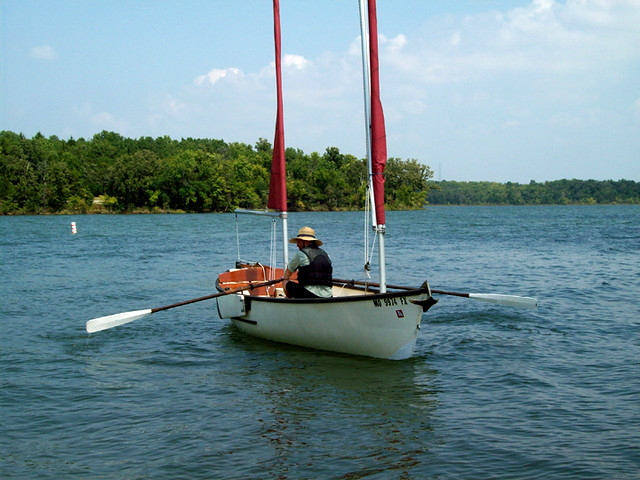 Stockton Lake - My Sea Pearl, courtesy of Gene Berry