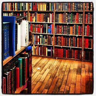18 miles of books.