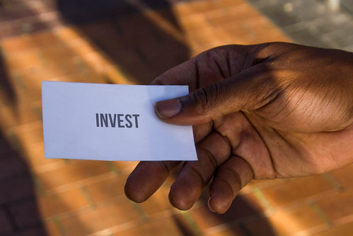 Invest card   by ota_photos