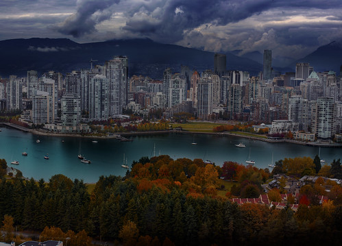 city travel autumn canada storm art fall beautiful photoshop landscape nikon downtown day cityscape colours view juan britishcolumbia destination nikkor processed vanvouver weatherphotography creativemindsphotography rostworowski thephotographyblog flickrstruereflection1 flickrstruereflection2 d800e juanrostworowski