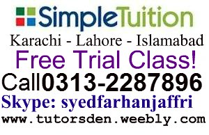 simple tuition in karachi, simple tutoring, online tuition, home tutor in lahore, | by Pakistani Online Tutors and Home Teacher Provider