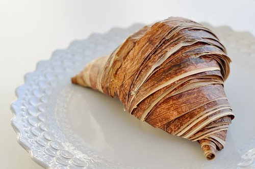 Rolled Paper Croissant