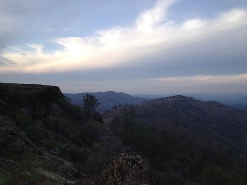 sunset mountains clouds tablemountain millerton millertonlake