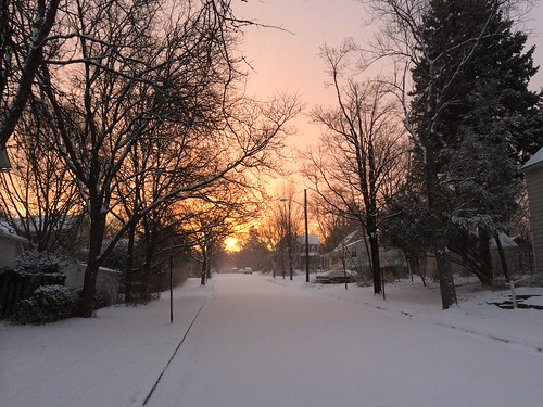 snow sunrise spring pretty hah pwwinter itllneverend